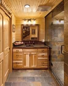 Log Cabin Bathroom Ideas Log Cabin Bath Hickory Rustic Bathroom Milwaukee