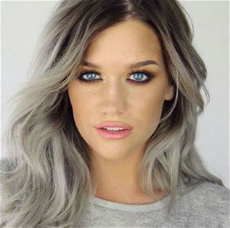 tintes de cabello color gris tintes de cabello de color gris para ellas net
