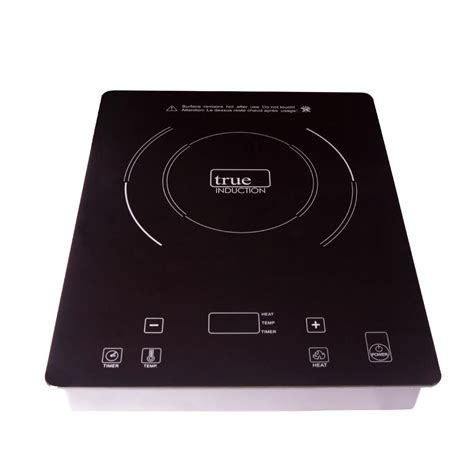 induction glass cooktop true induction 11 in glass induction cooktop in black