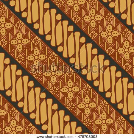 indonesian pattern free vector vector batik pattern indonesia stock vector 475708003