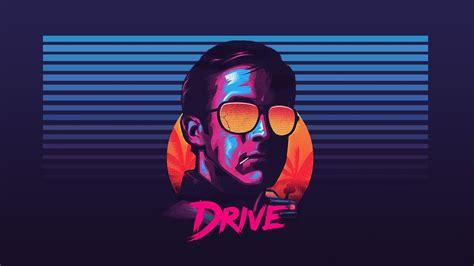 ryan gosling drive sunglasses  retro wave hd