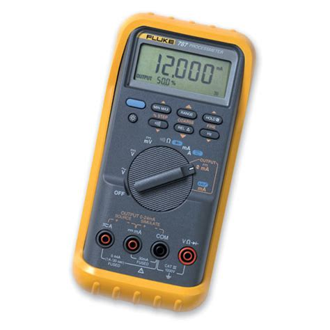 Multimeter Fluke 787 Brand New Fluke 787 Process Meter Tax Invoice Warranty Ebay