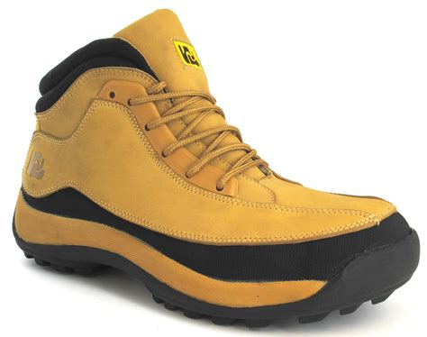 Boot Original Sepatu Boot Tracking Sepatu Steel Toe Safety new mens leather safety boots trainers steel toe cap ankle