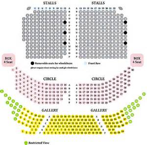 lyceum theatre floor plan lyceum theatre crewe seating plan view the seating chart for the lyceum theatre