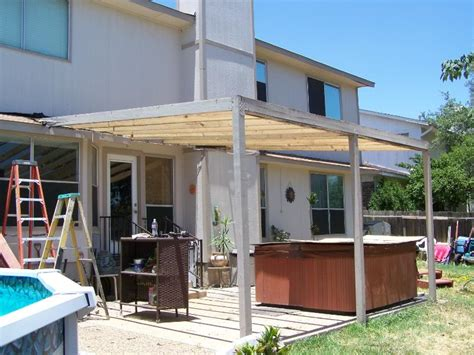 wood patio awnings wooden awning before encino park b carport patio covers