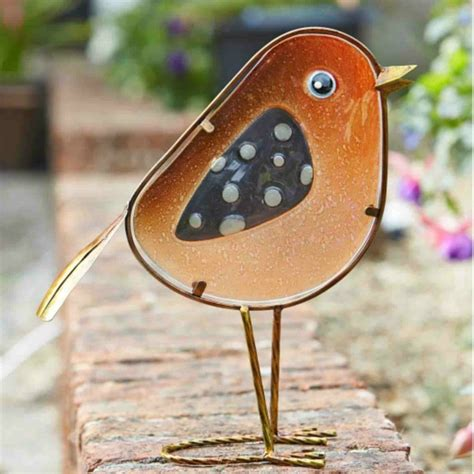 rosie robin garden ornament from ruddick garden gifts