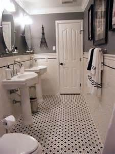 Vintage Black And White Bathroom Ideas 1000 Images About Parents Bathroom On Pinterest House