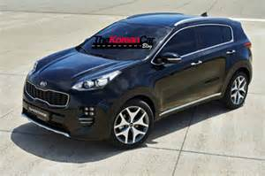 new kia sportage official pictures leaked the korean car