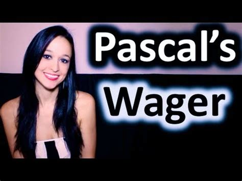 pascals wager pascal s wager