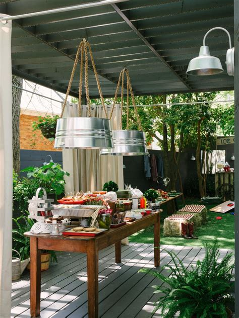 Backyard Bbq How To Host A Backyard Barbecue Wedding Shower Diy