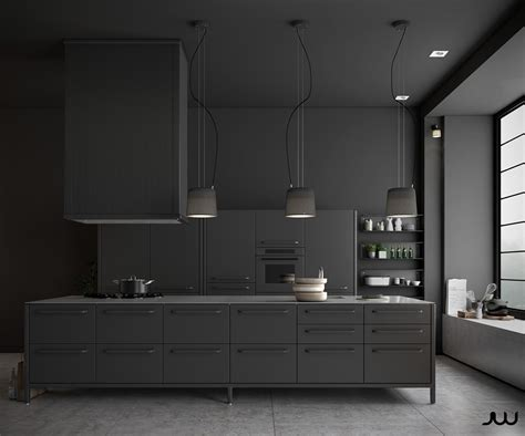 Black Kitchen Design 36 Stunning Black Kitchens That Tempt You To Go For Your Next Remodel Assess Myhome