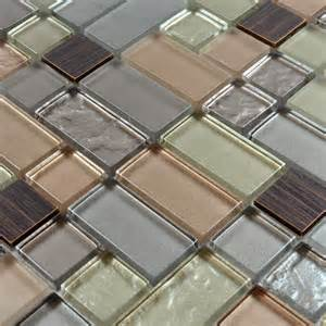 Metal Wall Tiles Kitchen Backsplash Beautiful Metal Glass Tile For Bathroom Wall Tiles And Kitchen Backsplash Sku Mag0005