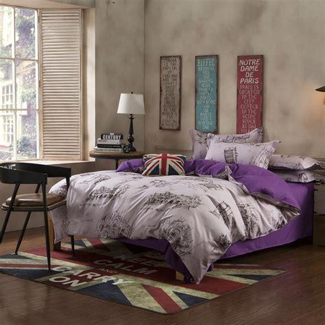 paris comforter set king western paris model city style king queen full size