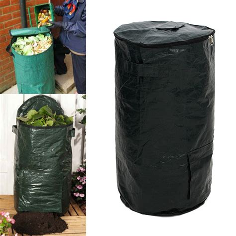 Compost Bag 60l garden organic waste kitchen waste compost bag environmental pe cloth planter bag alex nld