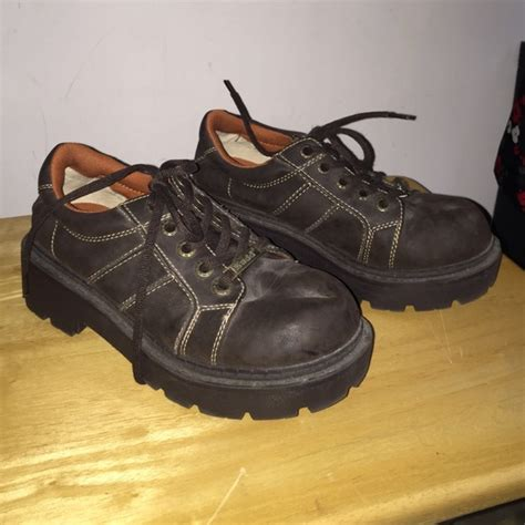 mudd oxford shoes 60 mudd shoes mudd chunky oxford brown shoe size 7
