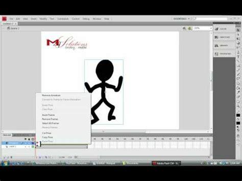 tutorial bone tool flash cs6 adobe flash cs4 profesional bone tool tutorial youtube