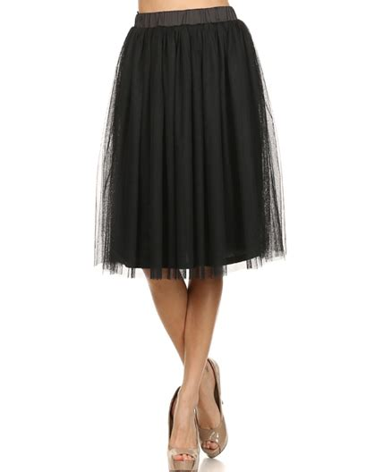 shop skirts miami shop tulle skirt tulle knee length