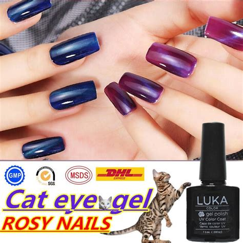 Silimanite Cat Eye 6 40 Ct cat eye gel nail magnetic uv gel free sle