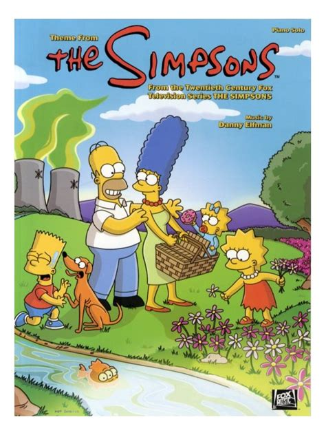 danny elfman simpsons sheet music danny elfman theme from the simpsons