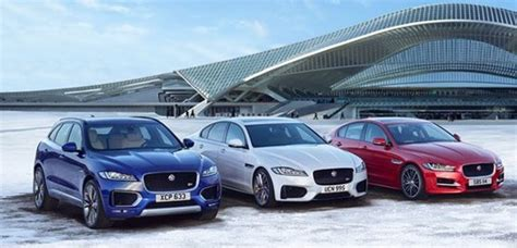jaguar range of cars jaguar announces new engines and technology for f pace xe