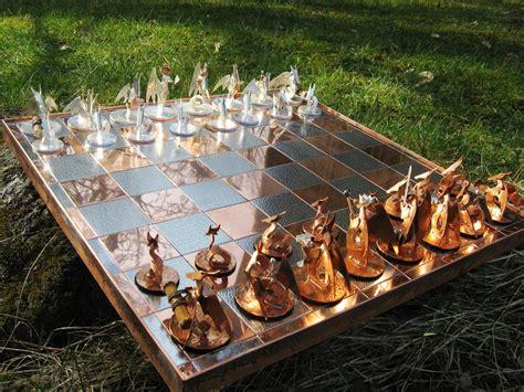 dragon chess set chess set of dragons by obiskus on deviantart