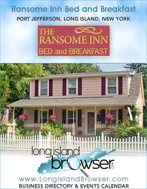 bed and breakfast nyc ransome inn bed and breakfast port jefferson long island