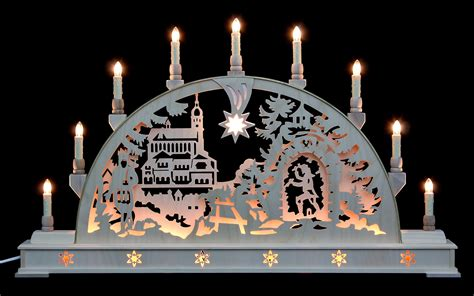 candle arch annaberg church with base 78cmx45cm 31x18in