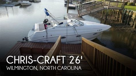 chris craft boats for sale north carolina for sale used 1996 chris craft 26 crowne in wilmington