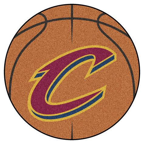 Basketball Area Rug Cleveland Cavaliers Basketball Shaped Area Rug 27 Quot