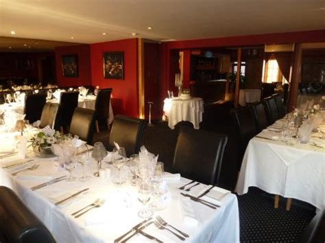restaurant set for wedding anniversary picture of chapters hotel and restaurant stokesley - Wedding Anniversary Hotels Uk