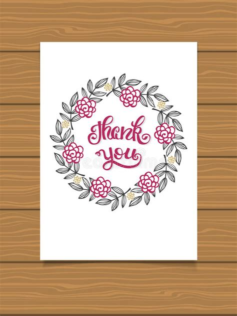 handwritten thank you card template thank you lettering sign for a card template