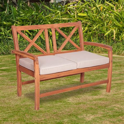 Acacia Wood Outdoor Furniture by Walker Edison Furniture Company Acacia Wood Outdoor