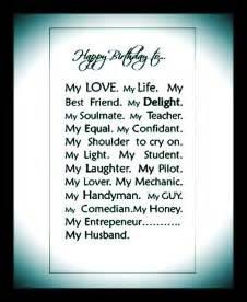 happy birthday to my husband sayings pinterest