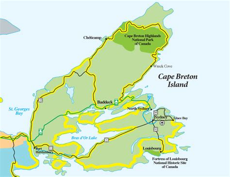 cape breton canada map caperpics photos and memories of cape breton