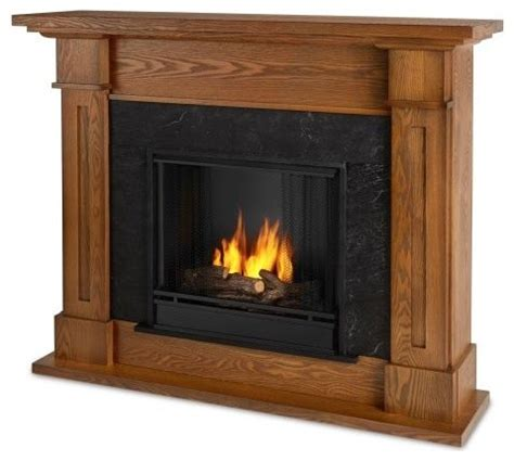 kipling indoor ventless gel fireplace burnished oak