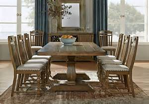 Oak Dining Room Furniture Sets Asheville Oak 5 Pc Rectangle Dining Room Dining Room Sets Light Wood