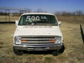 Dodge van it is probably from around 1978 or 1979 this 1975 dodge