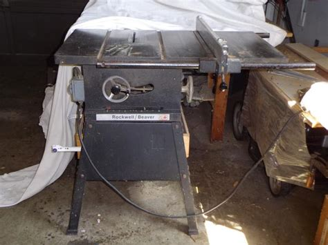 rockwell 15 10 in table saw beaver rockwell 10 inch table saw esquimalt view royal