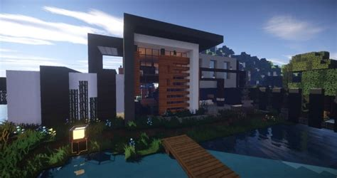 house beautiful com clane modern house minecraft house design