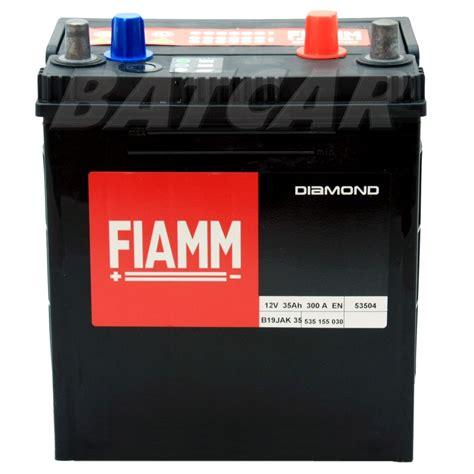 Motorrad Batterie 35ah by Autobatterie Starterbatterie Fiamm Diamond 12v 35ah 300a