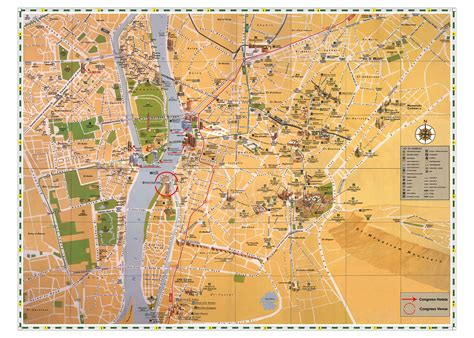 where is cairo on a map large cairo maps for free and print high