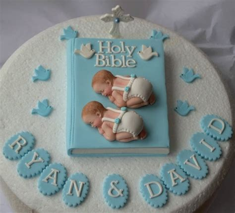 edible personalised baby boy christening cake topper personalised edible twin baby boys christening baptism cake
