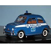 Modellino Fiat 500 Polizia  500pedia
