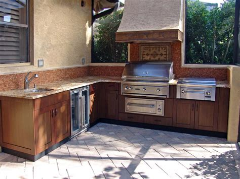 outside kitchen cabinets outdoor kitchen trends diy