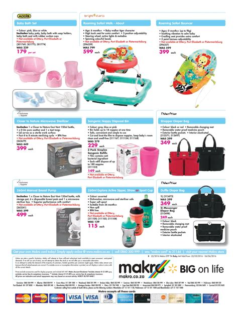 makro baby catalogue    june