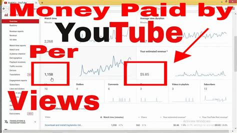 adsense youtube pay per view how much do you earn per 1000 views on youtube the