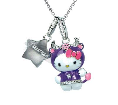 Hello Taurus hello zodiac jewelry from kimora simmons