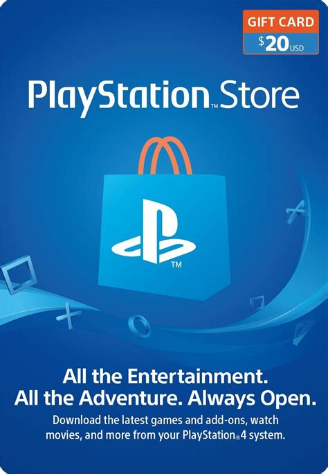 Playstation Store 20 Gift Card - 100 buy and send digital gift custom e gift card platform 10 itunes gift card itunes