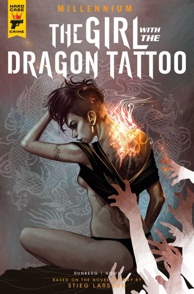 girl with the dragon tattoo book series millennium the with the comic series