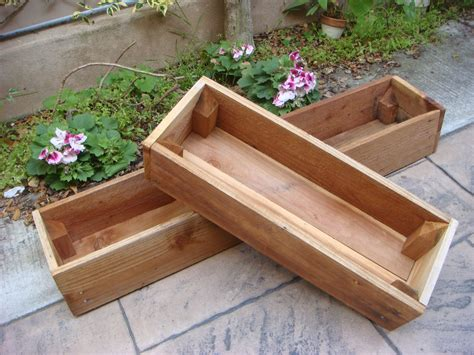 Redwood Planter Box Plans by Woodwork Redwood Planter Pdf Plans